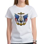 Naval Anchor Tattoo Women's T-Shirt