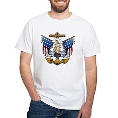 Naval Anchor Tattoo Shirt