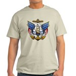 Naval Anchor Tattoo Light T-Shirt
