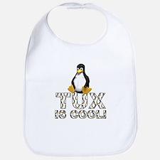 Tux Is Cool! Bib