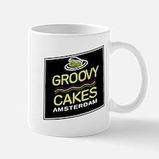 Fun logo - Groovy Cakes Mugs