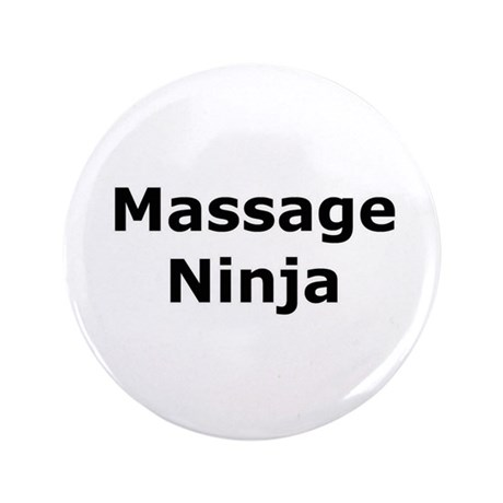 "Massage Ninja 3.5"" Button"