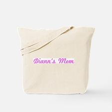 Diann Mom (pink) Tote Bag