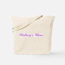 Mallory Mom (pink) Tote Bag