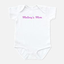 Mallory Mom (pink) Infant Bodysuit