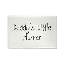 Daddy's Little Hunter Rectangle Magnet