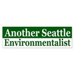 Seattle Environmentalist bumper sticker