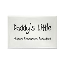 Daddy's Little Human Resources Assistant Rectangle