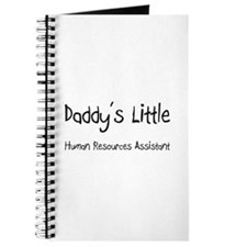 Daddy's Little Human Resources Assistant Journal