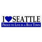 I Love Seattle (bumper sticker)