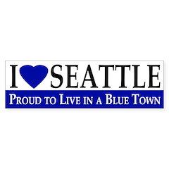 I Love Seattle (bumper sticker)