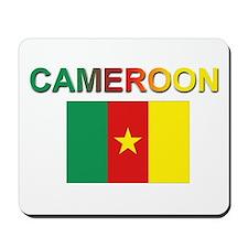 Cameroon Flag Mousepad