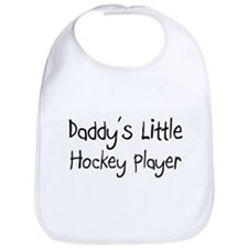 Daddy's Little Hockey Player Bib