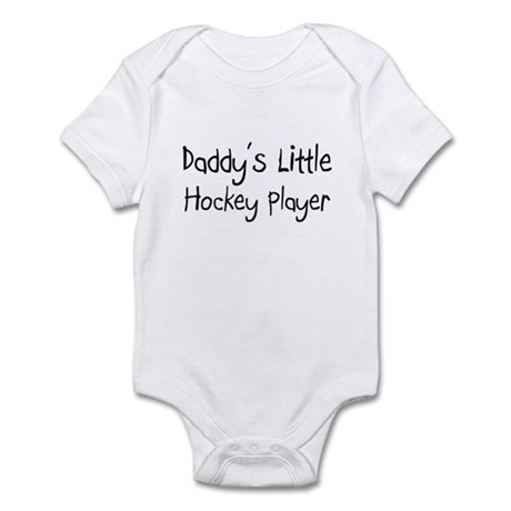 Daddy's Little Hockey Player Infant Bodysuit