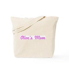 Olive Mom (pink) Tote Bag