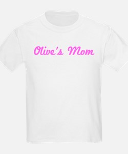 Olive Mom (pink) T-Shirt
