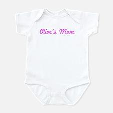 Olive Mom (pink) Infant Bodysuit
