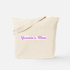 Yesenia Mom (pink) Tote Bag