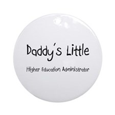 Daddy's Little Higher Education Administrator Orna
