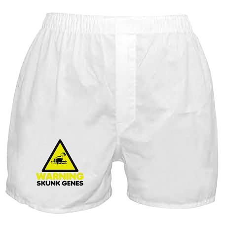 Funny Warning Sign Boxer Shorts