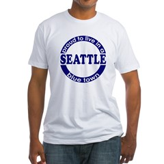 Seattle: Blue Town Shirt