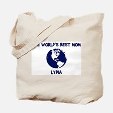LYDIA - Worlds Best Mom Tote Bag