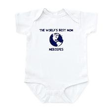MERCEDES - Worlds Best Mom Infant Bodysuit