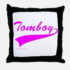 TOMBOY Throw Pillow