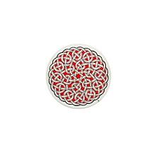 Solomon's Knot Mini Button
