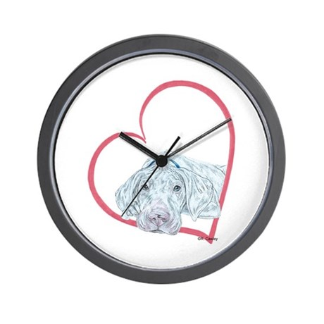 WP Heartline Wall Clock