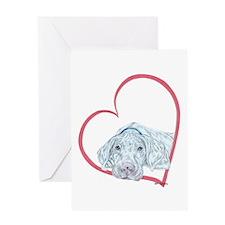WP Heartline Greeting Card