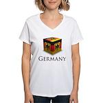 Cube Germany Women's V-Neck T-Shirt