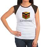 Cube Germany Women's Cap Sleeve T-Shirt