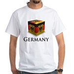 Cube Germany White T-Shirt