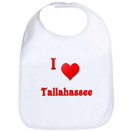 I Love Tallahassee #21 Bib
