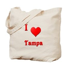 I Love Tampa #21 Tote Bag
