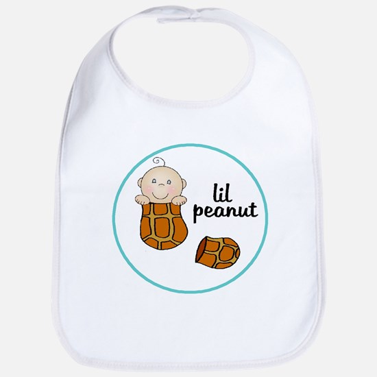 lil peanut baby bib
