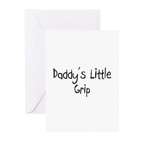 Daddy's Little Grip Greeting Cards (Pk of 10)