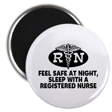 Feel Safe at Night Sleep with a Nurse Magnet