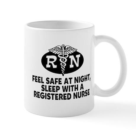 Feel Safe at Night Sleep with a Nurse Mug