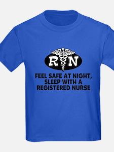 Feel Safe at Night Sleep with a Nurse T