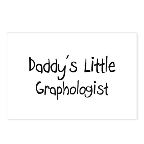 Daddy's Little Graphologist Postcards (Package of