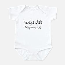 Daddy's Little Graphologist Infant Bodysuit