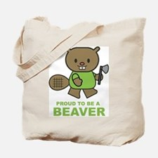 Proud To Be A Beaver Tote Bag