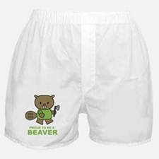 Proud To Be A Beaver Boxer Shorts