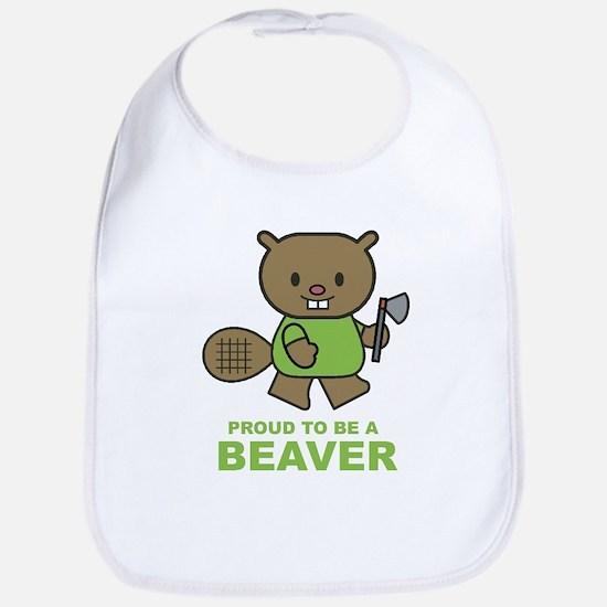 Proud To Be A Beaver Bib