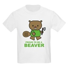Proud To Be A Beaver Kids T-Shirt