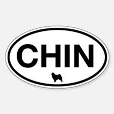 Chin Oval Decal