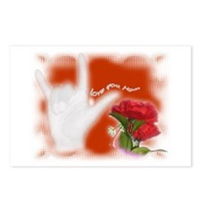 ILY - Mom - Postcards (Package of 8)