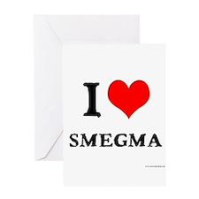 White Smegma 2 Greeting Card